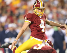 hocker Kai Forbath vs Zach Hocker: The Fight to be the Washington Redskins Kicker in 2014