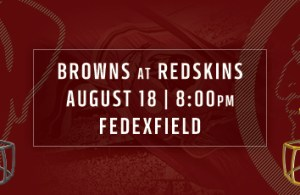 Redskins vs Browns Preseason Game 2 Preview