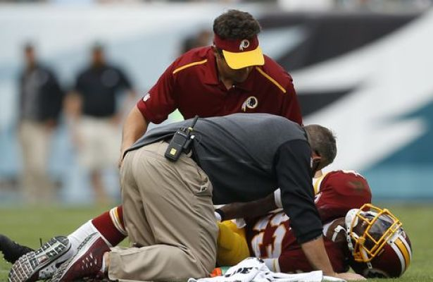 DeAngelo Hall Injures Achilles Tendon