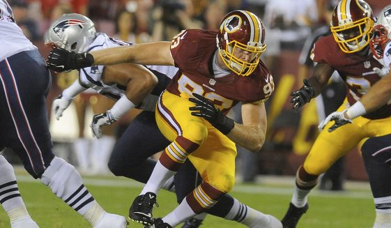 Redskins Place Trent Murphy on IR, Sign OL Rishaw Johnson