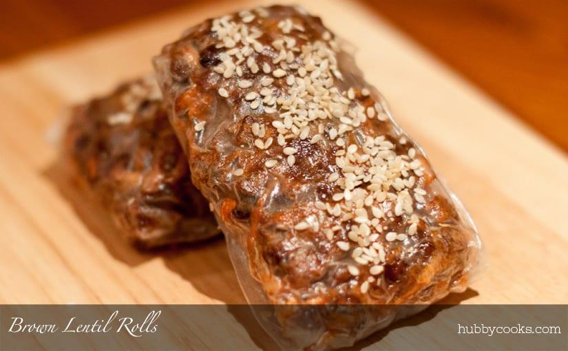 Brown Lentil Rolls