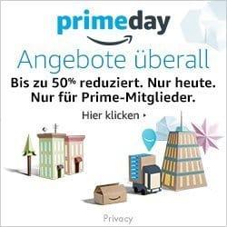 Mal wieder Werbung: Amazon Prime Day startet um 0 Uhr heute (morgen)
