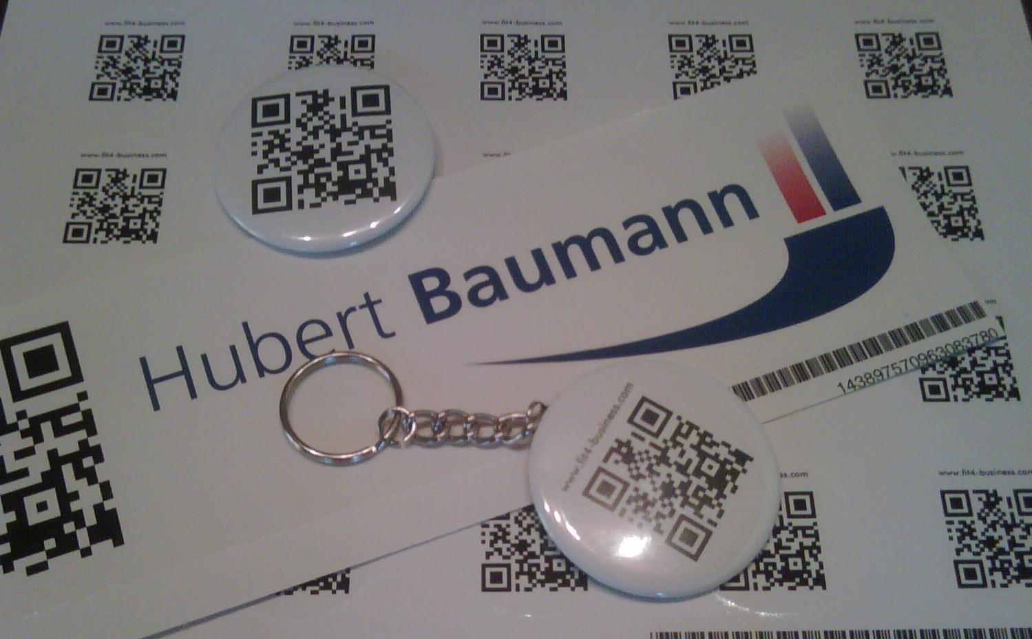 Nutzung QR Codes (QRC) für Marketing, Guerillamarketing