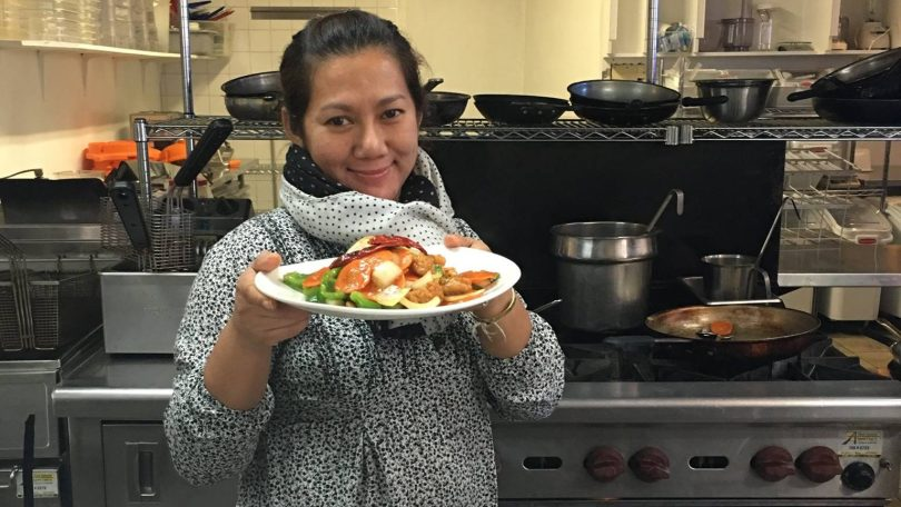 May Jariya O'Brien. Image: Bangkok Food Truck, Facebook