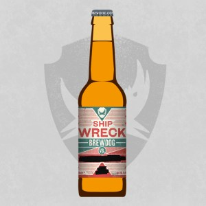 BrewDog SHIPWRECK 1x330ml üveges
