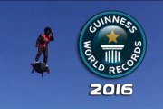 Welcome to the Future! Flying Frenchman smashes hoverboard Guinness record