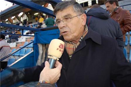 Julio Peguero, director deportivo del Recreativo de Huelva.