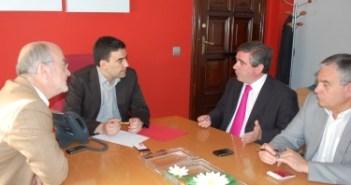 Reunión del PSOE con Fertinagro.