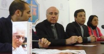 Rueda de prensa del Obispo.