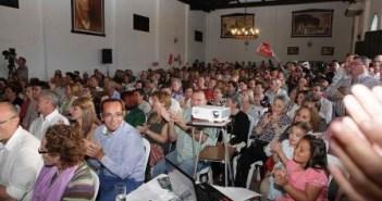 Presentación de la candidatura del PSOE en Moguer.