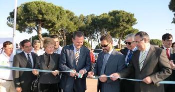 Inauguración de la feria en Punta.