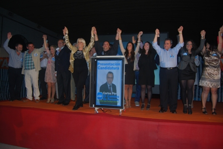 Presentación de la candidatura del PP en Cartaya.