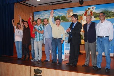 Presentación del candidato del PP en Campofrío.