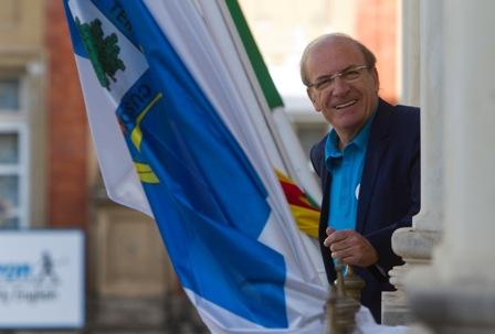 Pedro Rodriguez, alcalde y candidato del PP. (Foto: Julián Pérez)