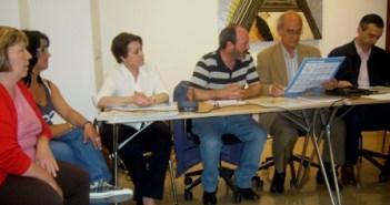 Reunión de IU con el Colegio de Arquitectos.