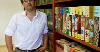 Julio González, director de Cáritas. (Julián Pérez).