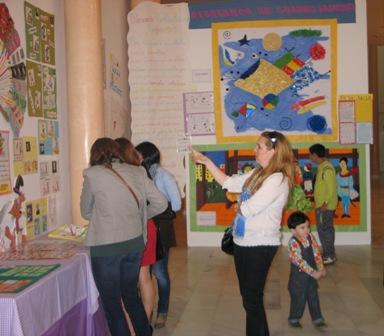 Exposición de las jornadas de lectoescritura.