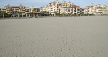 playa de Isla Canela.
