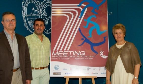 Presentación del Meeting Iberoamericano de Atletismo.