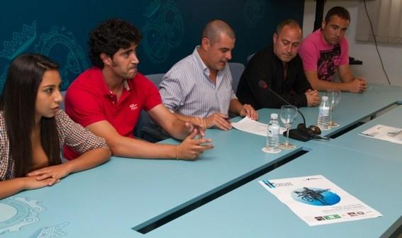 Presentación del triatlón de Isla Cristina.
