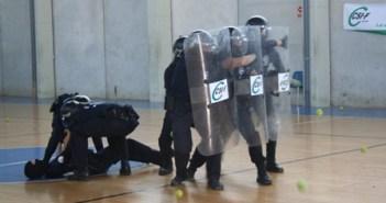 Policías locales en el curso.
