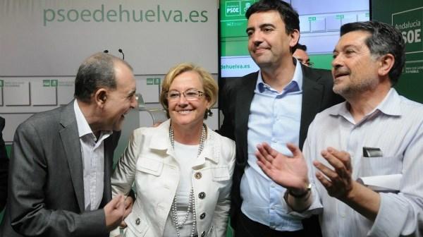 Cejudo, Petronila, Jiménez y Barrero.