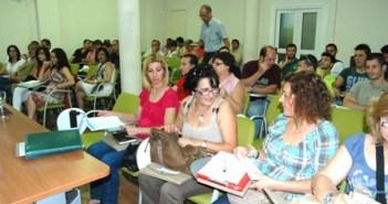 Participantes en la jornada de UGT