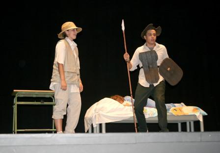 Representación de teatro en Cartaya