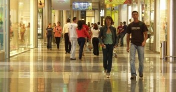 Imagen de archivo del Interior del centro comercial Aqualon.