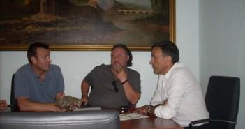 Reunión con Ignacio Caraballo.