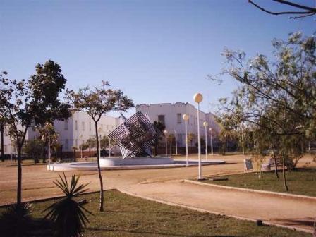 Campus del Carmen de la Universidad de Huelva.