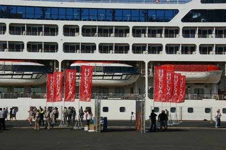 El Crucero en el Puerto de Huelva