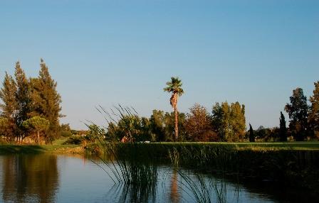 El lago del hoyo 16.