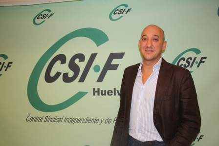 Juan Manuel Quilón, responsable del CSI-F en Administración Local.