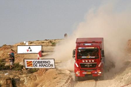 Manuel Borrero, en la Baja Aragón, donde ha quedado segundo.