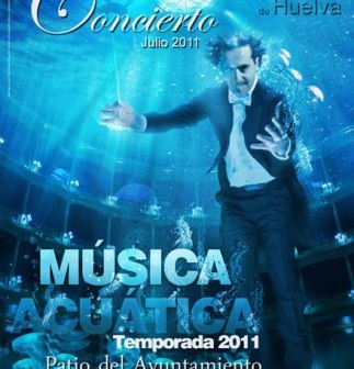 Cartel de 'Música acuática'.