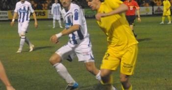 Matamala en un partido de la pasada temporada frente al Alcorcón.