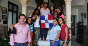 Jóvenes acogidos en San Juan.