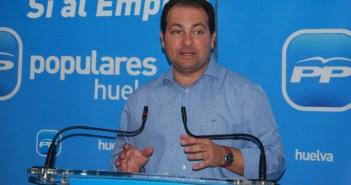 David Toscano, secretario provincial del PP.