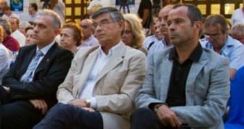 Julio Peguero y Álvaro Cervera. (Julián Pérez)