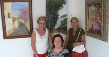 Exposición colectiva en Mazagón.