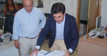 Hernández Cansino durante una actuación judicial.