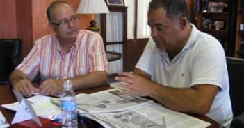 Representante de Apyme y alcalde de La Palma.