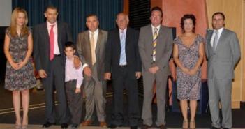 Los premiados el pasado año en la Gala del Turismo.