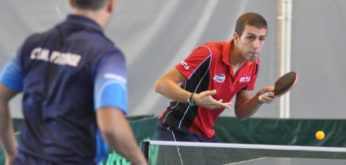 Adrian Robles, jugador del Conservas Lola de tenis de mesa.