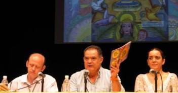 El alcalde de La Palma en el acto.