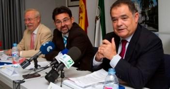 Juan Antonio Gallardo, Juan Luis Delgado y Juan Carlos Lagares.