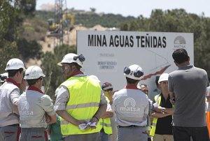 Trabajadores de Matsa.