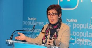 María Sacramento en rueda de prensa.