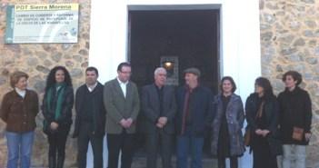 Inauguración del centro de recepción de la Gruta en Aracena.